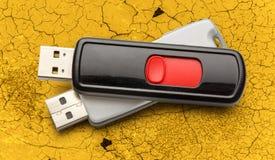 USB-Blitz-Antriebe Lizenzfreies Stockfoto