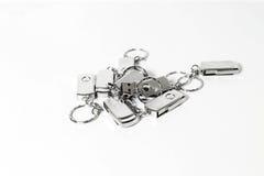 USB-Blitz-Antriebe mit Metallgehäuse Lizenzfreies Stockbild