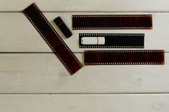 USB-Blitz und Film für die Kamera Stockfotografie