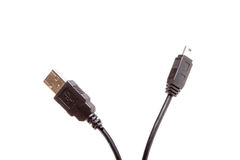 USB Cable Royalty Free Stock Photography