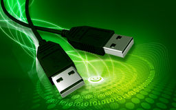 Free USB Cable Stock Photo - 14596500