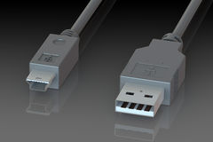 USB cable Royalty Free Stock Photo