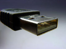 USB Cable. Close-up Royalty Free Stock Photography
