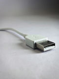 USB cable. A USB cable Stock Photography
