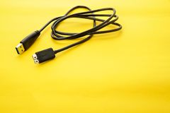 USB 3.0 Cable Royalty Free Stock Images
