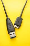 USB 3.0 Cable Stock Photos