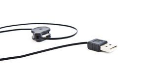 USB cable connection Stock Photo
