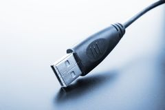 USB 3.0 Cable Stock Photo