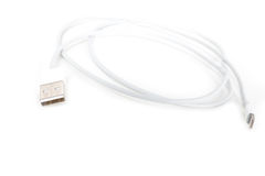 Usb cable lightning Stock Images