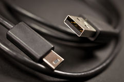 USB Cable Stock Photos