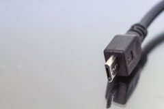 USB Cable Plug Stock Photography