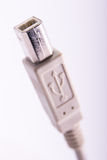USB cable plug connector Royalty Free Stock Photo