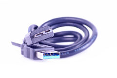 Usb3 cable Royalty Free Stock Images