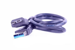 Usb3 cable Royalty Free Stock Image