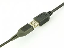 USB cable Stock Photography