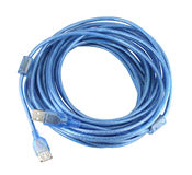 USB cable Stock Photo