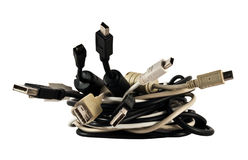 Usb cables Stock Photography