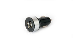Usb car charger Stock Photography