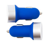 USB car charger Stock Photo