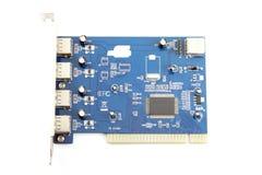 USB Card Computer equipment circuit board. Royalty Free Stock Photo