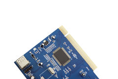 USB Card Computer equipment circuit board. Stock Photos