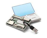 USB Card Reader Stock Image