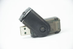 Usb card reader Stock Images