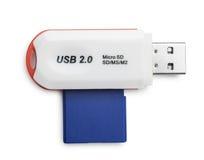 USB Card Reader Royalty Free Stock Photos