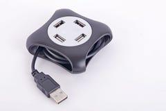 USB centrum Obrazy Royalty Free