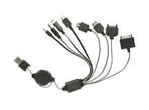 USB charging plugs Royalty Free Stock Image