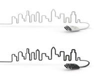USB-city Stock Photos