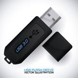 Usb connection design vector illustration eps10 graphic Stock Photos
