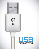 Usb connection design vector illustration eps10 graphic Stock Photo