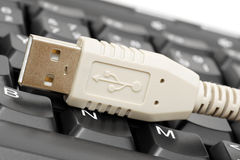 USB connector Royalty Free Stock Photo