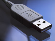 USB connector Stock Photography