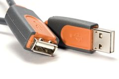 USB connector Stock Images
