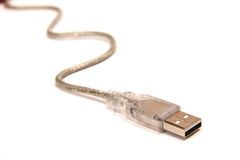 Usb cord Stock Photography