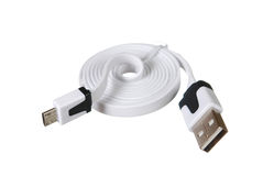 Usb cord Royalty Free Stock Photo