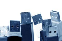 Usb devices Stock Photography