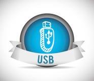 USB digital design Royalty Free Stock Photography