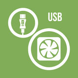 USB digital design Stock Photos