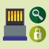 USB digital design Royalty Free Stock Images