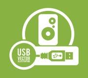USB digital design Royalty Free Stock Photo