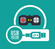 USB digital design Royalty Free Stock Photos