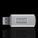 Usb drive Royalty Free Stock Photo
