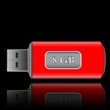 Usb drive Stock Photography