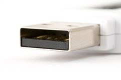 Usb drive. Close-up of USB drive Stock Photography