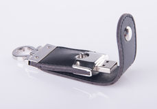 Usb drive on a background Stock Photo
