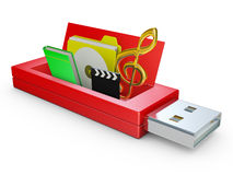 Usb drive Stock Images