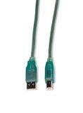 USB drukarki kabel Obrazy Stock